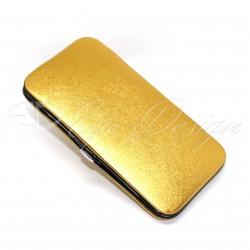 Pouzdro na pinzety - zlaté