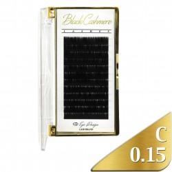 Black Cashmere - Odlehčené řasy - C 0.15