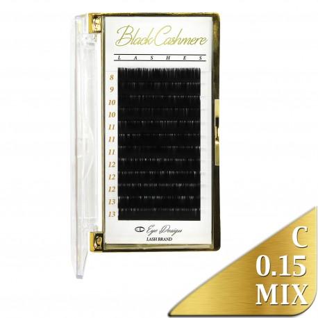 Black Cashmere - Odlehčené řasy - C 0.15 MIX