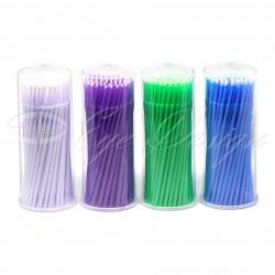 Microbrush - Mikrokartáčky na řasy - 100 kusů