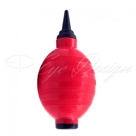 Balónek - červeno-černý