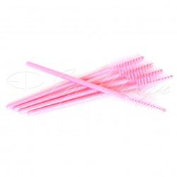 Kartáčky na prodloužené řasy - Candy Pink