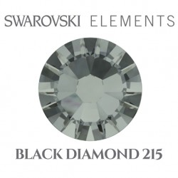 Swarovski Elements - Black Diamond