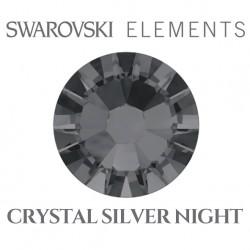 Swarovski Elements - Crystal Silver Night