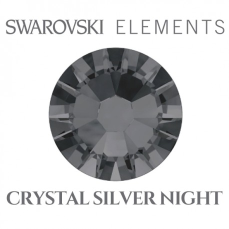 Swarovski Elements - Crystal Silver Night